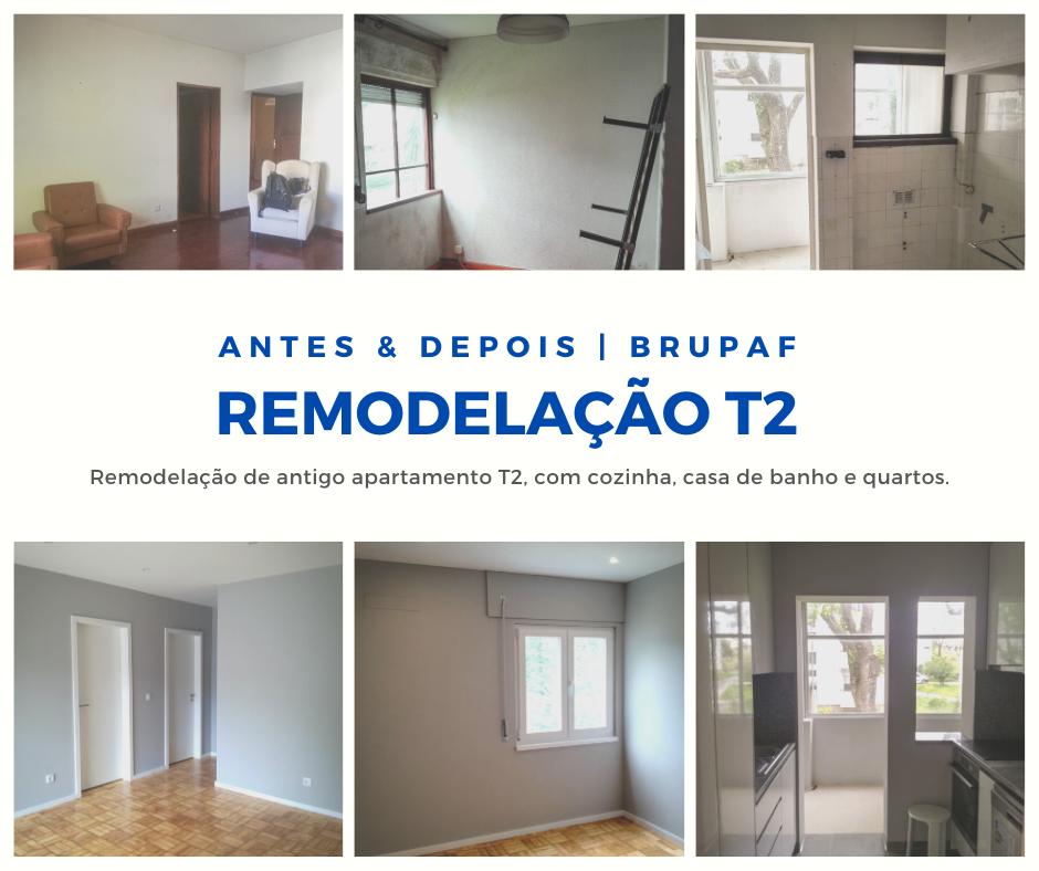 BRUPAF | Remodelação Apartamento T2 | Porto